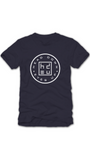 Navy Circle Logo T-Shirt