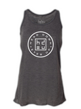 Heather Gray Circle Logo Women's Tank Top