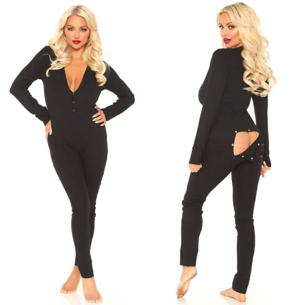CAROLYN onesie (black)