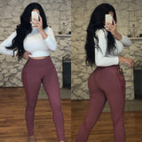 VICKY Leggings - Mauve