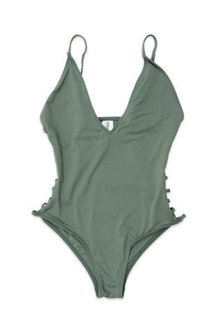 Candace Swimsuit (Dark Silver)