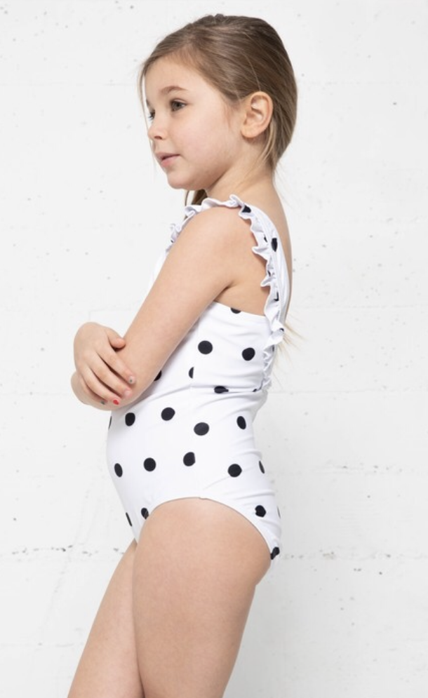 Polka Dot Swimsuit - Kids