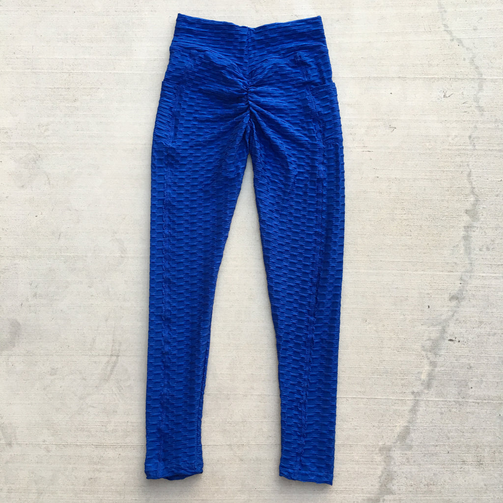Becky Leggings with Pockets - Royal Blue