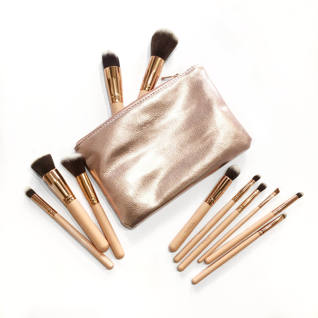 Ballerina- 11pc Brush Set