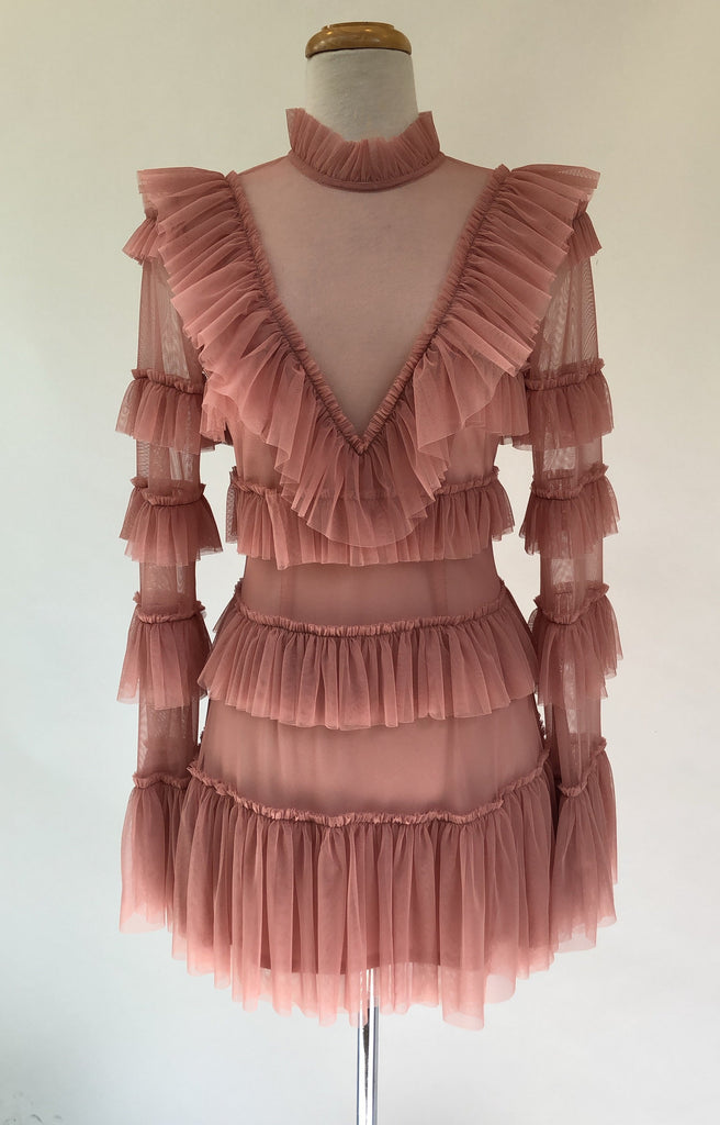 ALEXANDRA dress - Blush