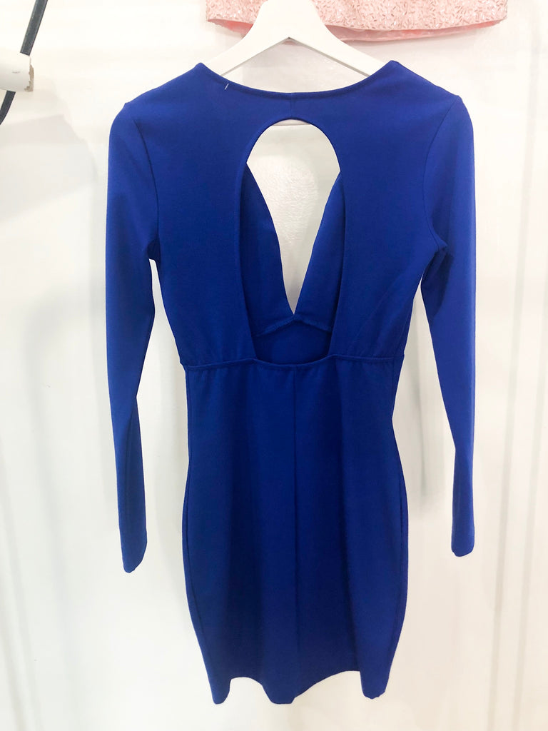 Monica Dress - Royal Blue