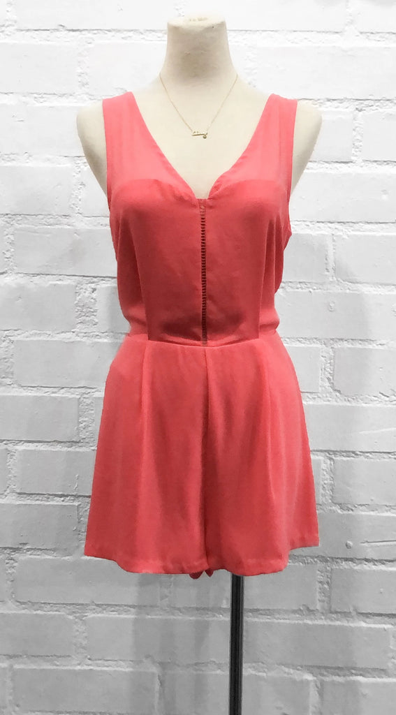 CINDY romper - Salmon