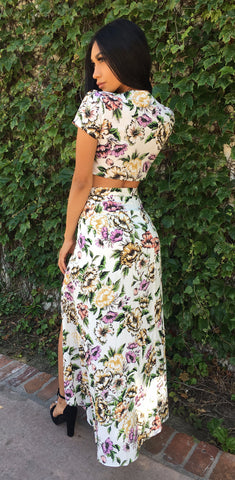 Ruby floral print set ( 1 Small Left )