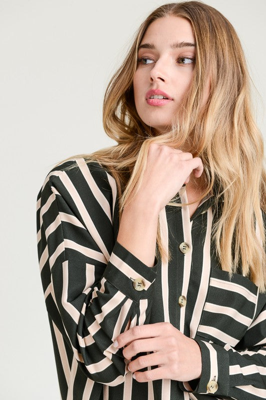 NATALIE Stripe Top