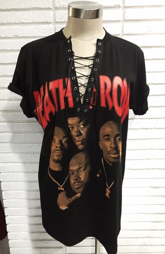 Death Row Lace up top