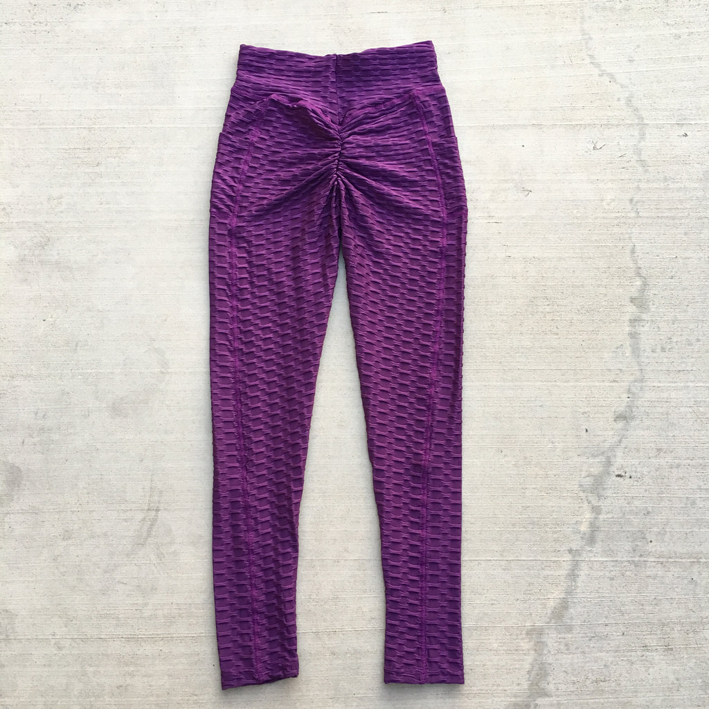 Becky Leggings with Pockets - Purple