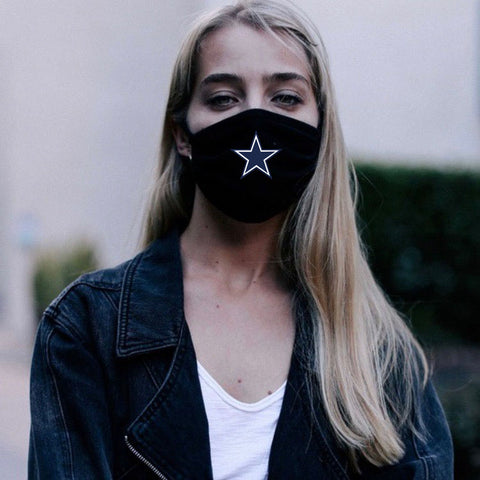 Fabric Face Mask - Black (Kids)