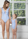 Daisy Blue Swimsuit - Kids