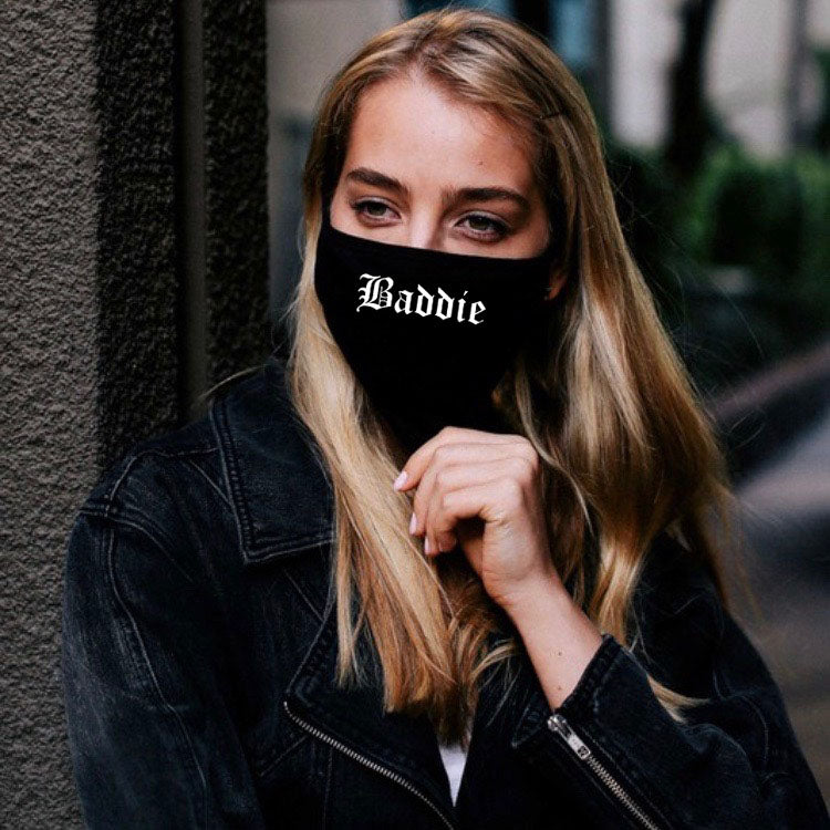 Fabric Face Mask - BADDIE