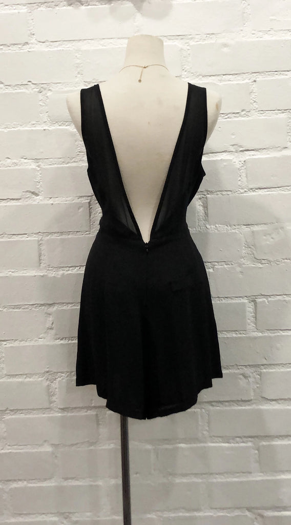 CINDY romper - Black ( Large left)