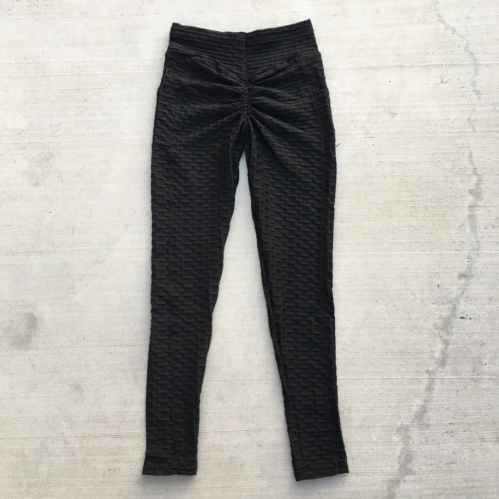 Becky Leggings with Pockets - Black