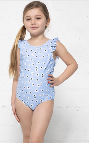 Daisy Blue Swimsuit