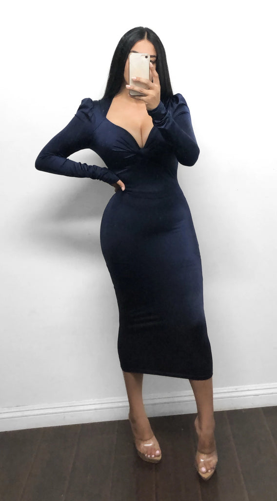 SOPHIA dress - Navy