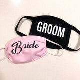 Face Mask - Bride & Groom