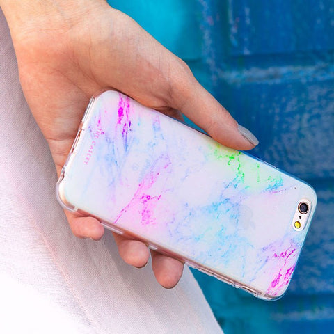 Rainbow Marble Case - iPhone + Samsung Models
