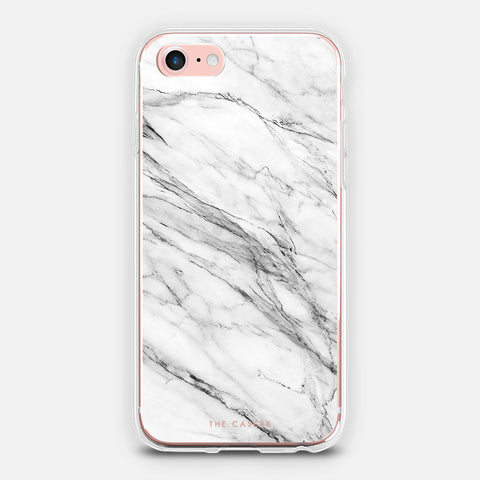 White Marble - iPhone + Samsung Models