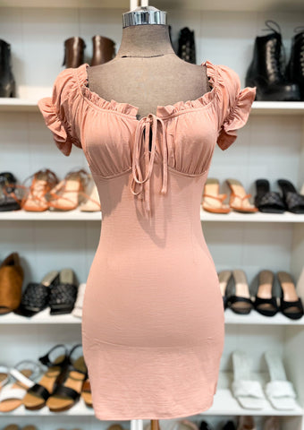 ALEXINA dress (Blush)