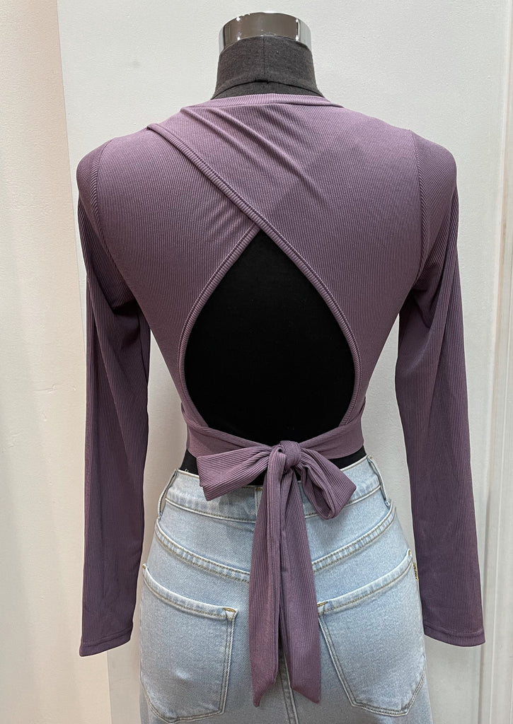 NORA top (Purple)