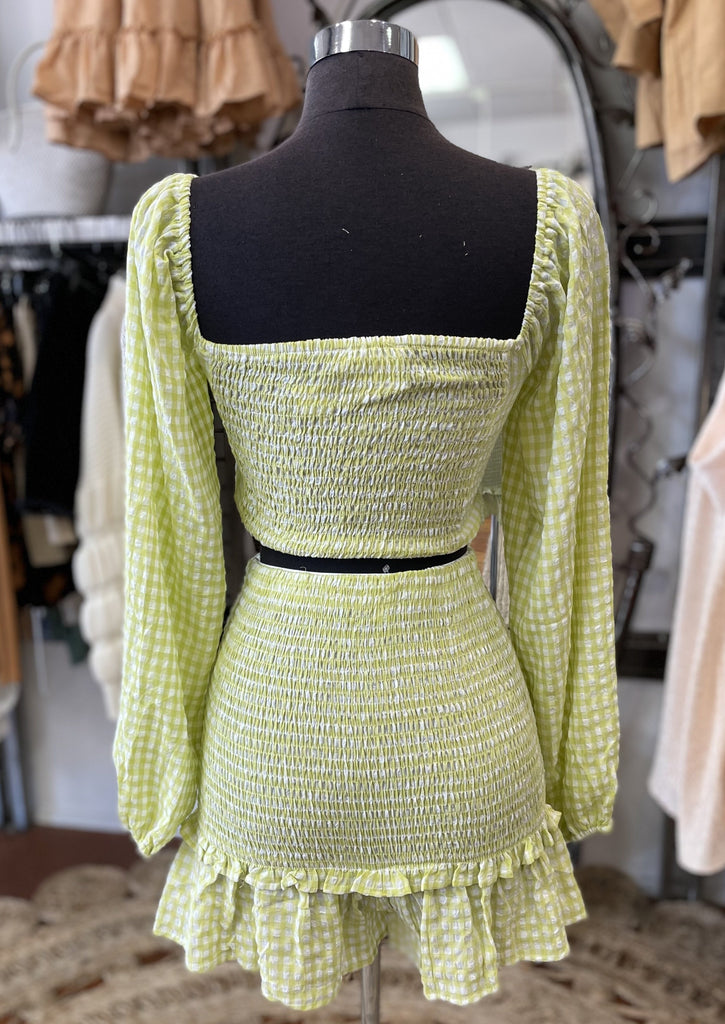 PAMELA top (Lime)