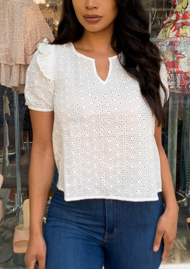 LIANA Top (White)