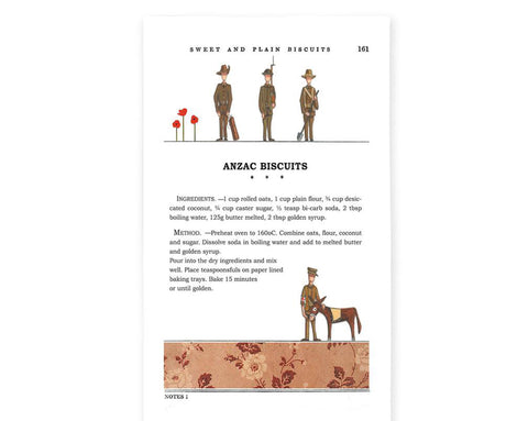 Tea Towel - Anzac Biscuits