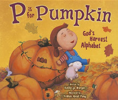 P is for Pumpkin - Preschool Homeschool October Books