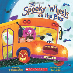 The Spooky Wheels on The Bus Preschool homeschool October Toddler Books