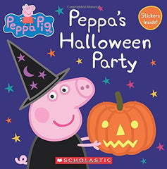 Peppa's Halloween Party Preschool Homeschool October Books