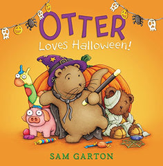 Otter Loves Halloween Preschool Homeschool October Books