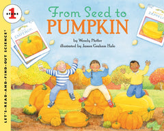From Seed to Pumpkin Preschool Homeschool October Books