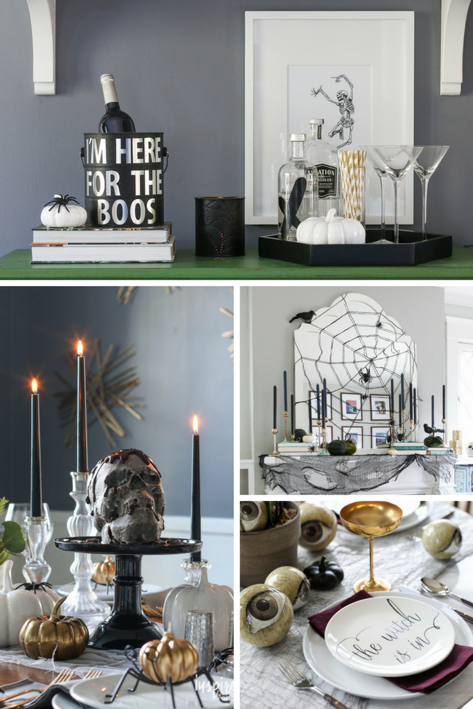 Inspired by Charm Halloween Home Decor