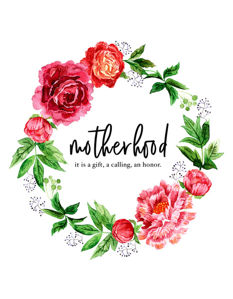 Motherhood Free Printable