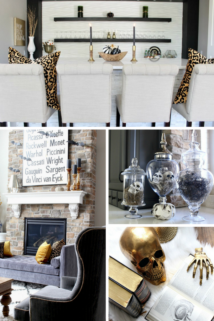 The House of Silver Lining Modern Halloween Home Decor