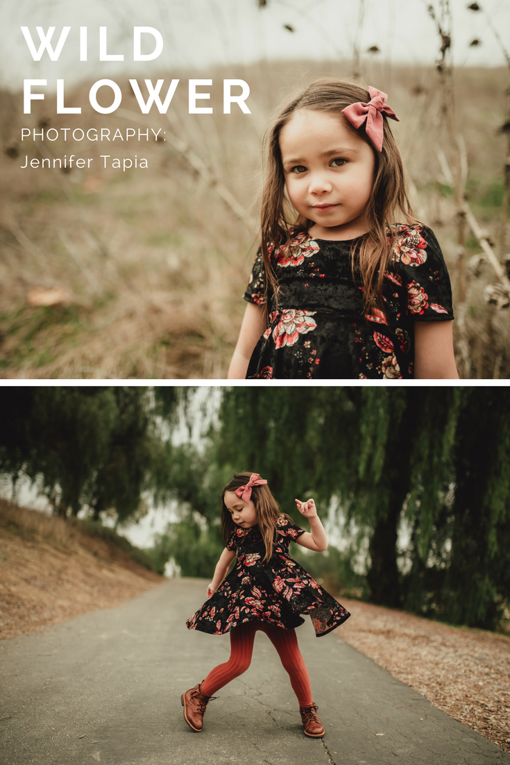 Toddler and doll matching floral dress set - littlemissdessa