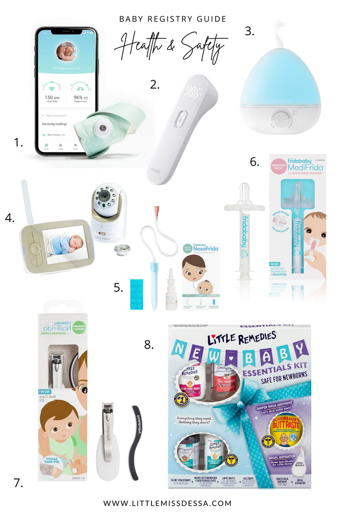 Baby Registry Guide Health & Safety