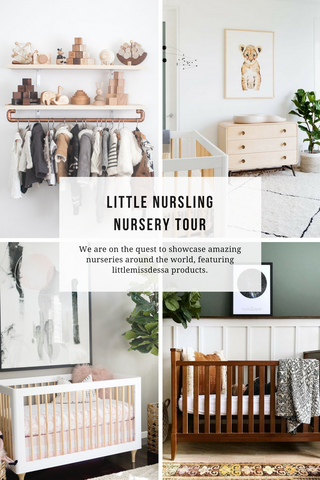 newborn and baby nursery tour for inspiration