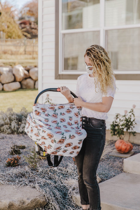 Little Nursling™ Multi-Use Cover | Vanilla Poppy - LITTLEMISSDESSA