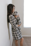 Mama Robe - Onyx Plaid