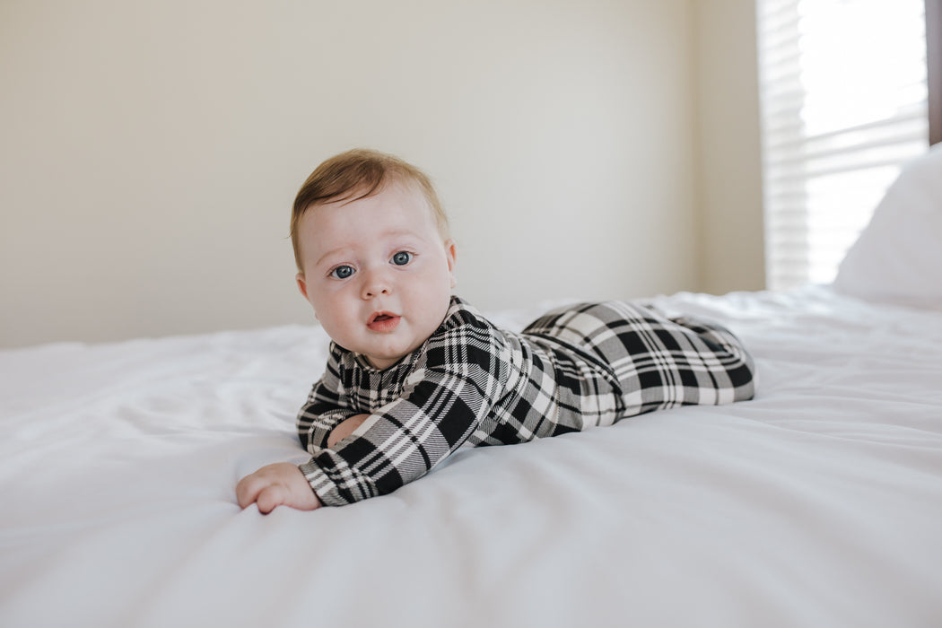 Snuggle Set | Onyx Plaid - LITTLEMISSDESSA