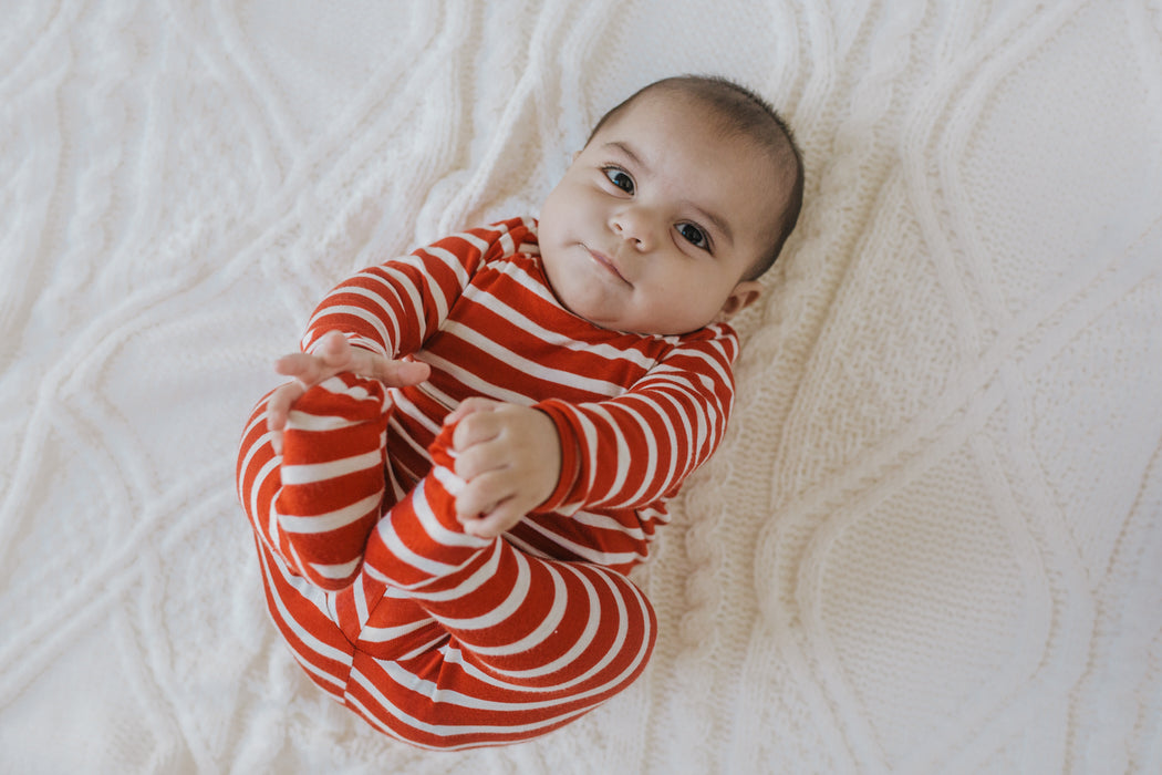 Snuggle Set | Holiday Stripe - LITTLEMISSDESSA