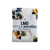 Little Nursling™ Knit Jersey Swaddle Baby Blanket | Botanical Bloom