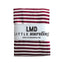 Little Nursling™ Knit Jersey Swaddle Baby Blanket | Burgundy & Ivory Stripe - LITTLEMISSDESSA