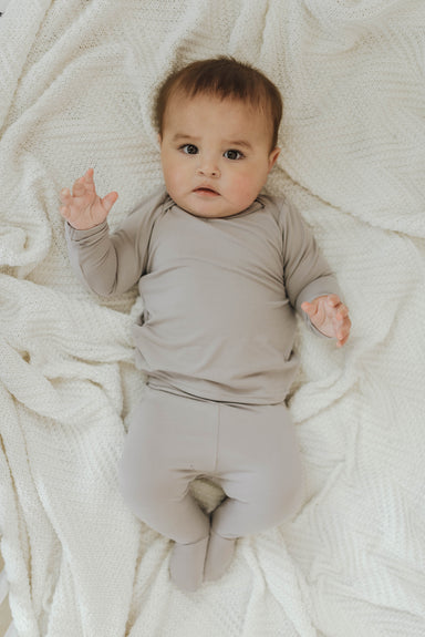 Snuggle Set | Pebble Grey - LITTLEMISSDESSA