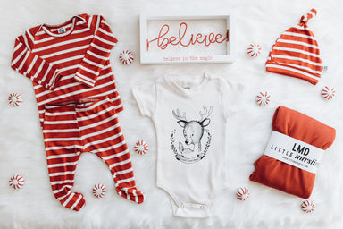 Snuggle Set | Holiday Stripe
