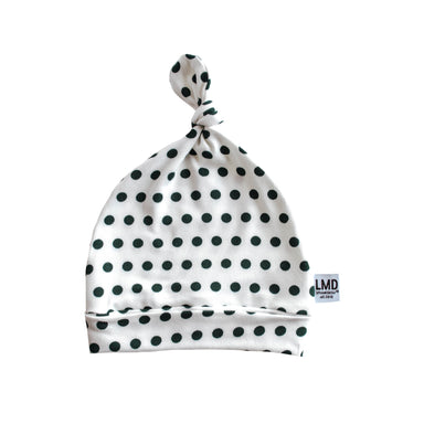 Newborn Baby Knotted Hat | Dotty